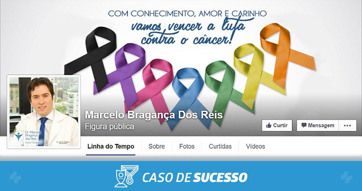 Como o Dr. Marcelo Bragança Reis utiliza as redes sociais na sua clínica