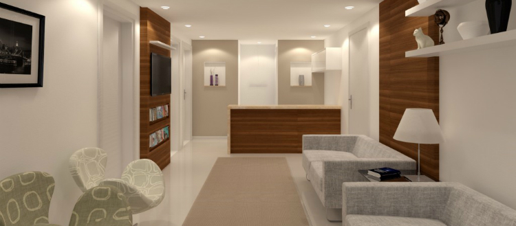 Ideias para reformar o consultório de forma rápida e limpa