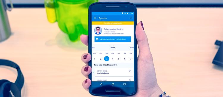 Aplicativo iClinic para Android